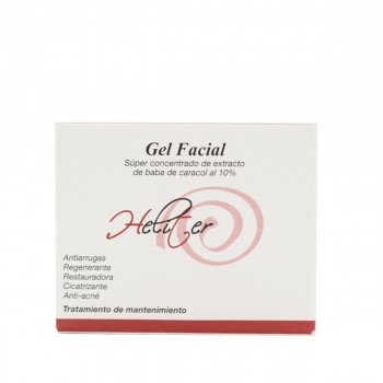 Gel facial Heliter