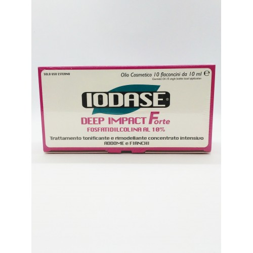 IODASE DEEP IMPACT FORTE Fosfatidilcolina al 10%